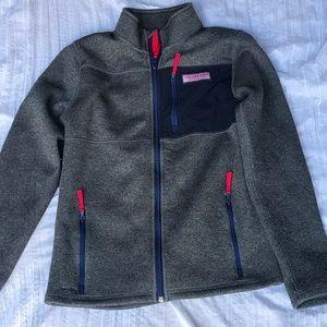 Vineyard vines🐳1/4 zip sweater kids L
